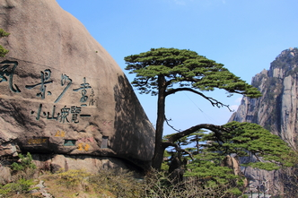 route huangshan