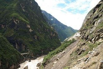 route tige leaping gorge