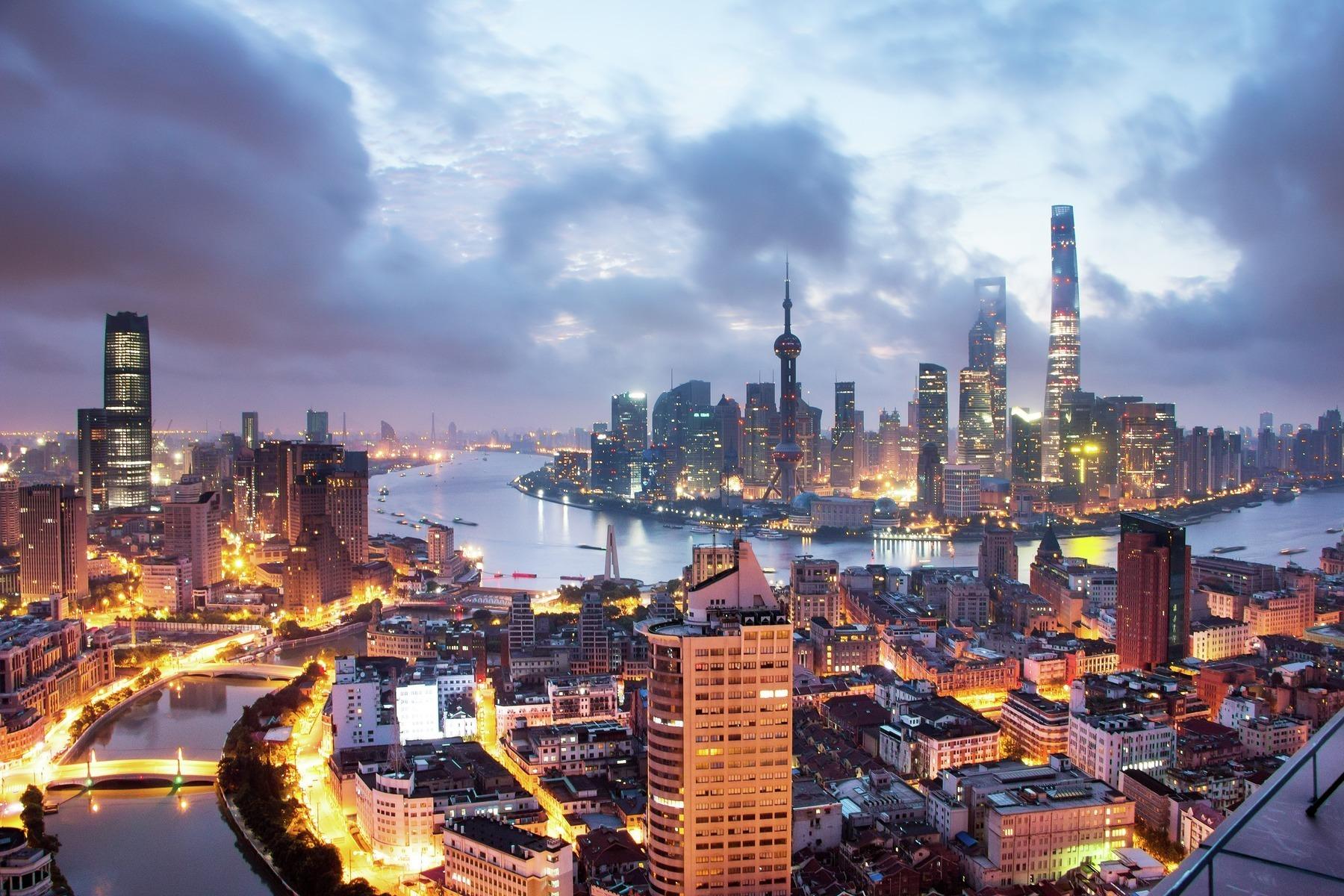 Обои свет, Город, Кнр, шанхай, shanghai, утро, китай. Города foto 14