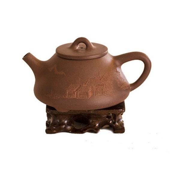 Чайник из Исинской глины «Даосский треножник», 200 мл
